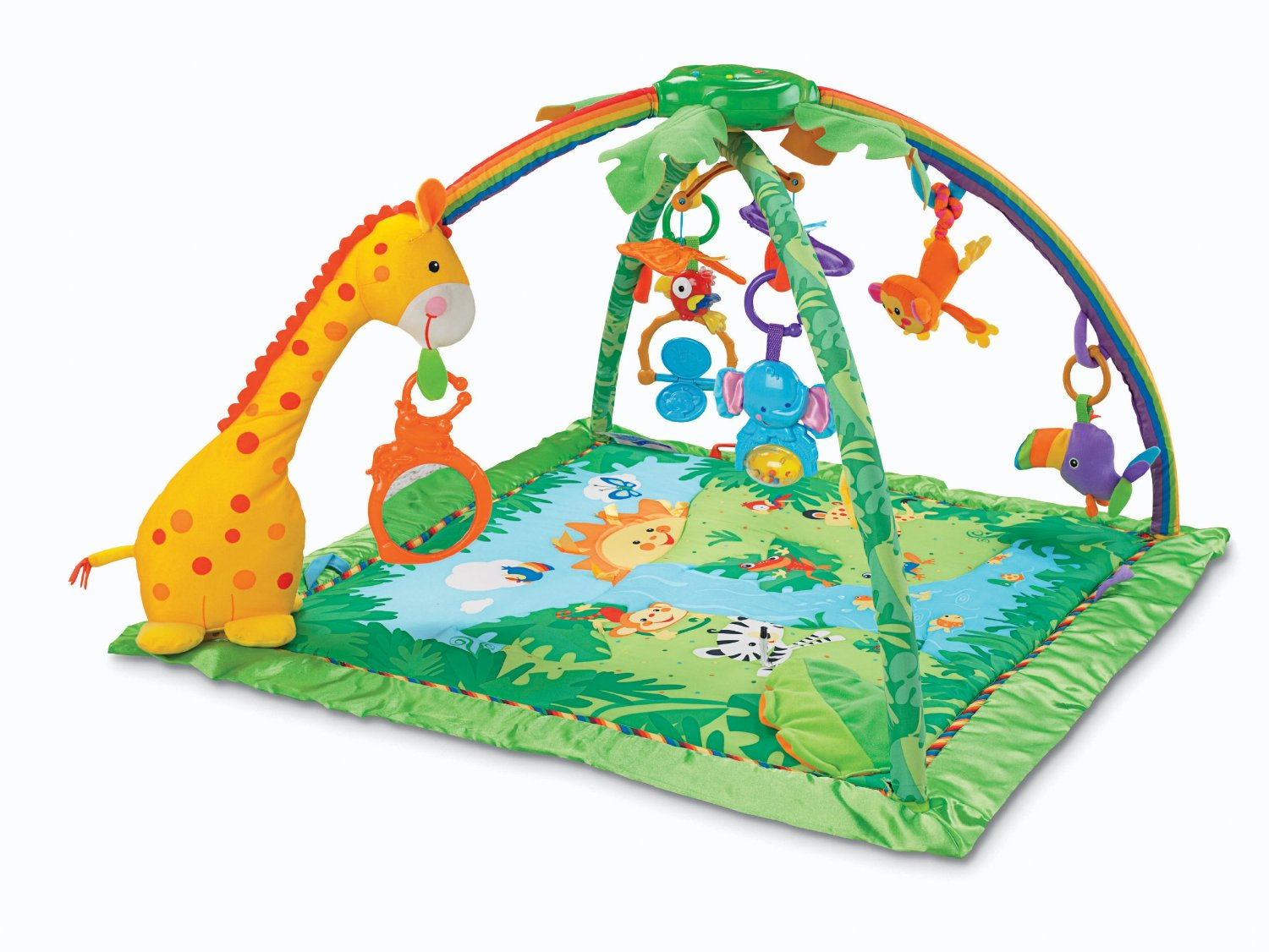 Rainforest Melodies and Lights Deluxe Gym
