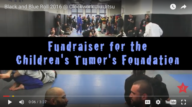 Hardcore music, the Children's Tumor Foundation & Jiujitsu?